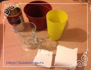 Как выбрать и подготовить горшок для топиария? Сажать топиарий можно в разные емкости. Это могут быть обычные цветочные горшки, как пластмассовые, так и керамические. Стеклянная посуда — это чашки, стаканчики или заварочные чайники, стаканчики из под йогурта или сметаны.